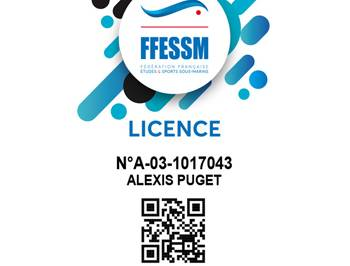 Licence 2020 FFESSM