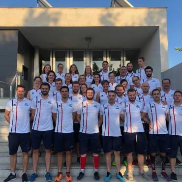 Equipes hockeysub France Europe 2019