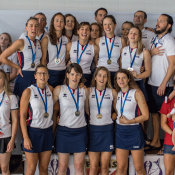 Equipe de France Féminine championne d'Europe de hockey subaquatique